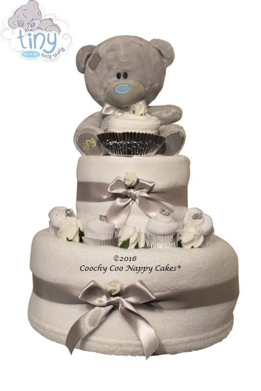 tatty teddy nappy cake unisex baby gift