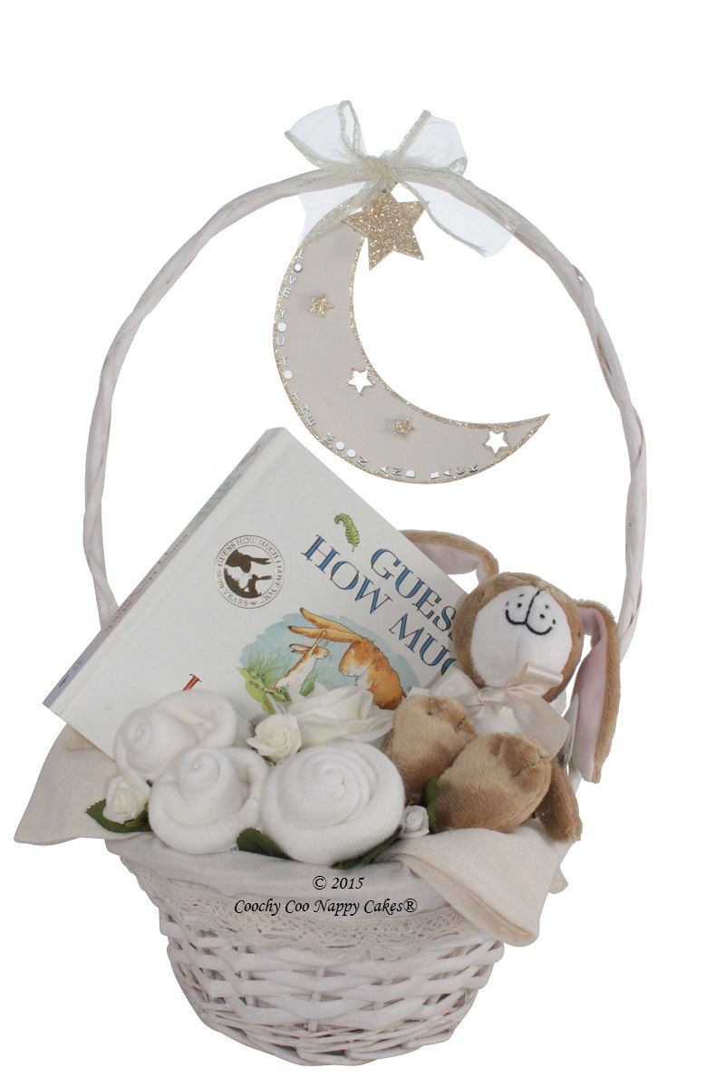 Guess How Much I Love You Baby Gift Basket Coochy Coo