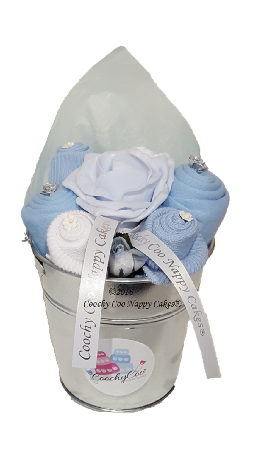 boys baby clothes bouquet flowers