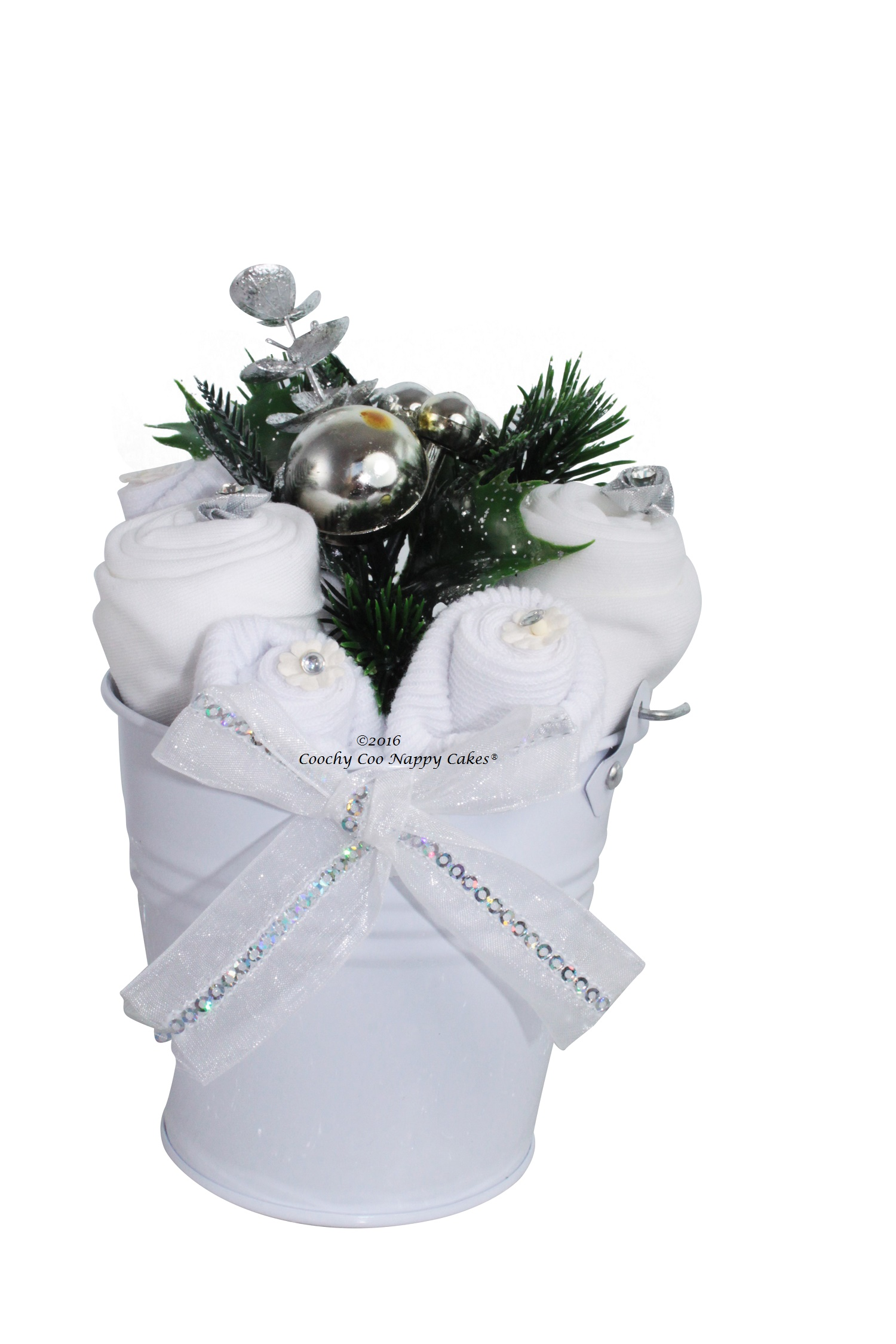 baby christmas flowers bouquet