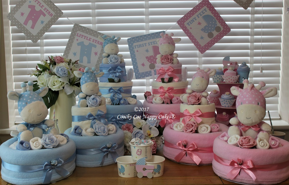 new baby shopwe nappy cakes