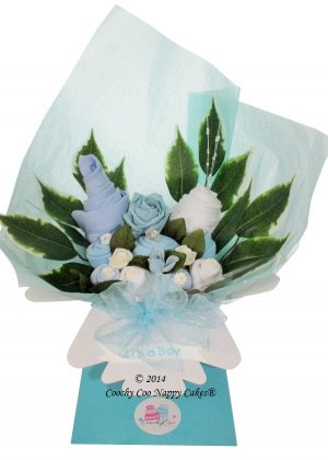 boys baby clothes bouquet