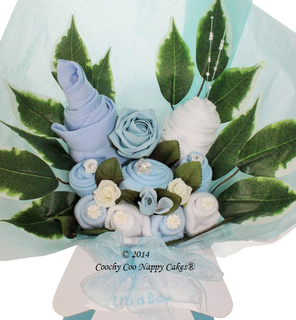 boys clothes bouquet