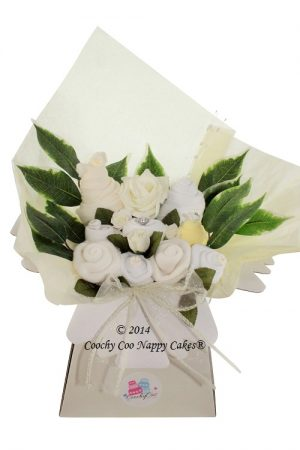 unisex baby clothes bouquet