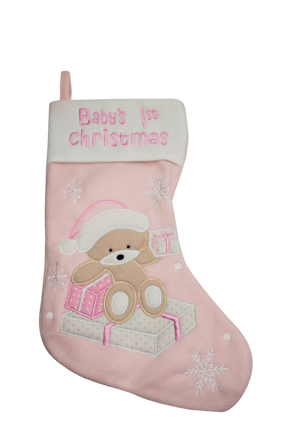 baby first christmas stocking