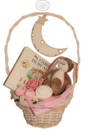 Guess How Much I Love You Baby Girl Basket