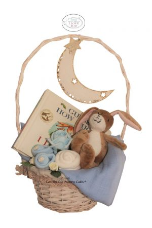 Guess how much i love you baby gift basket