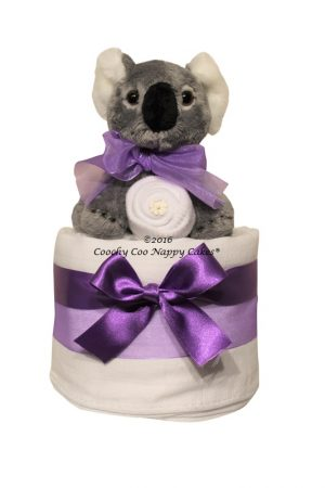 Mini koala bear nappy cke baby gift