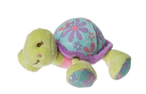 Turtle rattle toy